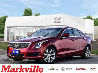 Used 2014 Cadillac ATS AWD-LEATHER-ROOF-GM CERTIFIED PRE-OWNED-1 OWNER for sale in Markham, ON