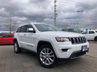 Used 2017 Jeep Grand Cherokee Limited**Heated Front/Rear Seats**Remote Start** for sale in Mississauga, ON