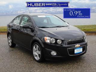 Used 2015 Chevrolet Sonic Bluetooth/ Remote Start/ Backup Camera for sale in Penticton, BC
