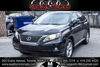 Used 2012 Lexus RX 350 AWD (A6) for sale in Etobicoke, ON