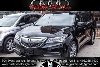 Used 2016 Acura MDX Technology Package  for sale in Etobicoke, ON