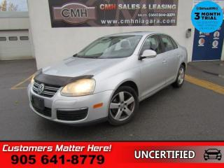 Used 2008 Volkswagen Jetta 2.5 Trendline  AS IS (UNCERTIFIED) AS TRADED IN for sale in St. Catharines, ON