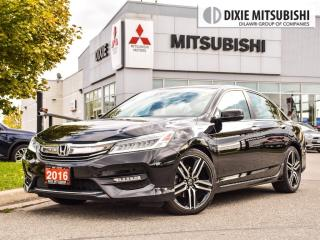 Used 2016 Honda Accord TOURING| NAVIGATION| LEATHER| ALLOYS for sale in Mississauga, ON