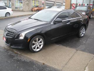 Used 2014 Cadillac ATS 2.0L Turbo AWD SUNROOF  R.CAMERA for sale in North York, ON
