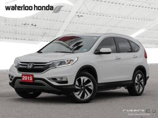Used 2015 Honda CR-V Touring Sold Pending Customer Pick Up...Bluetooth, Back Up Camera, Navigation, and More! for sale in Waterloo, ON