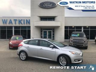 Used 2018 Ford Focus TITANIUM HATCHBACK LEATHER for sale in Vernon, BC