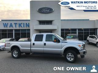 Used 2015 Ford F-250 Super Duty CREW CAB XLT 4X4 LONG BOX for sale in Vernon, BC