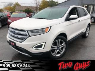Used 2015 Ford Edge Titanium  - Ex-lease -  - Navigation for sale in St Catharines, ON