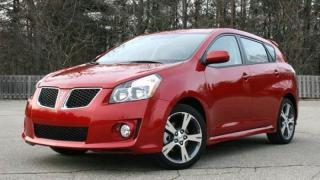 Used 2009 Pontiac Vibe GT,LEATHER,FOG LIGHTS, SUNROOF, ALLOY WHEELS,LOWKM for sale in Mississauga, ON