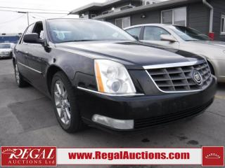 Used 2006 Cadillac DTS 4D Sedan for sale in Calgary, AB