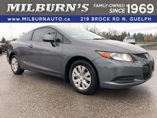 Used 2012 Honda Civic Coupe LX for sale in Guelph, ON