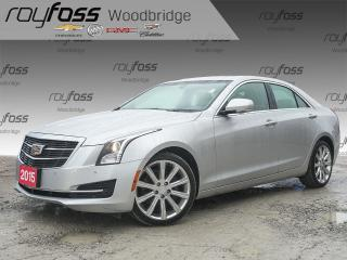 Used 2015 Cadillac ATS 2.0L Turbo Luxury for sale in Woodbridge, ON