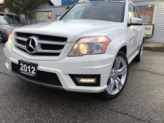 Used 2012 Mercedes-Benz GLK-Class 4MATIC 4dr with Navigation, for sale in Brampton, ON