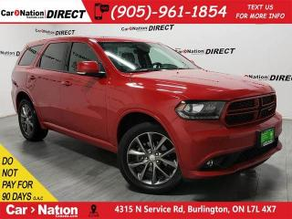 Used 2018 Dodge Durango GT| AWD| LEATHER| SUNROOF| for sale in Burlington, ON