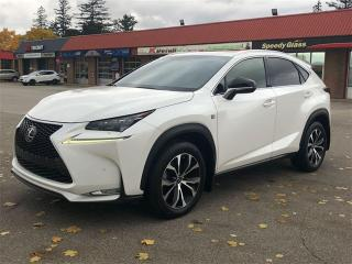 Used 2015 Lexus NX 200t F SPORT, NAVI, CAM , RED Leather NX 200t for sale in Toronto, ON