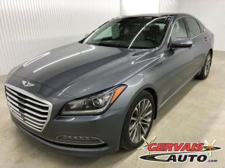 Used 2015 Hyundai Genesis Luxury Awd Gps Cuir for sale in Trois-Rivières, QC