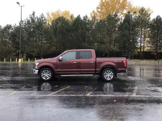 Used 2015 Ford F-150 Lariat Crew Cab 4x4 for sale in Cayuga, ON