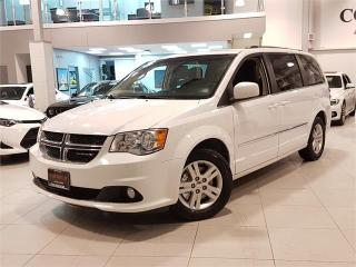Used 2017 Dodge Grand Caravan CREW PLUS-LEATHER-CAMERA-POWER DOORS-ONLY 75KM for sale in Toronto, ON