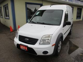 Used 2011 Ford Transit Connect HARD WORKING XLT MODEL 2 PASSENGER 2.0L - DOHC.. DIVIDER.. SHELVING.. SLIDING DOORS.. CD/AUX INPUT.. KEYLESS ENTRY.. for sale in Bradford, ON