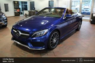 Used 2017 Mercedes-Benz C-Class C300 Awd Cabriolet for sale in Québec, QC