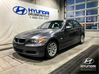 Used 2008 BMW 323i MAGS + CUIR + CRUISE + SIÈGES CHAUFFANTS for sale in Drummondville, QC