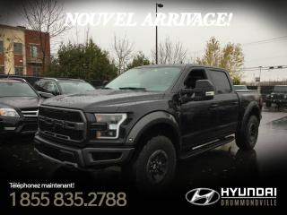 Used 2018 Ford F-150 Raptor F-150 + GARANTIE + TOIT PANO + NAVI + WO for sale in Drummondville, QC