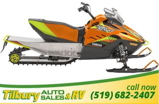 New 2019 Yamaha SNOSCOOT ES. *Great kids sled* for sale in Tilbury, ON