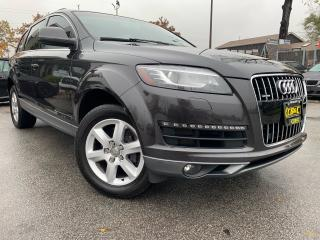 Used 2011 Audi Q7 7 SEATER | NAVI | PANO | NO ACCIDENTS | BACKUP CAM for sale in Oakville, ON