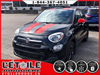 Used 2016 Fiat 500 X POP 4 PORTES TRANSMISSION MANUELLE, A/C for sale in Jonquière, QC