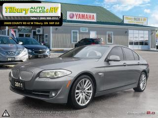 Used 2011 BMW 5 Series 550i xDrive *Leather. Nav. Bluetooth* for sale in Tilbury, ON