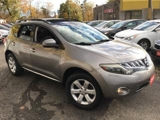 Used 2009 Nissan Murano SL/ AWD/ CAMERA/ SUNROOF/ ALLOYS/ BLUETOOTH! for sale in Scarborough, ON