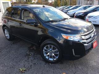 Used 2011 Ford Edge Limited/ AWD/ LEATHER/ SUNROOF/ NAVI/ POWER SEATS! for sale in Scarborough, ON