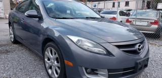 Used 2011 Mazda MAZDA6 4 CYL/LEATHER/BK-UP CAM/PUSH START/BLUETOOTH/ROOF for sale in Scarborough, ON