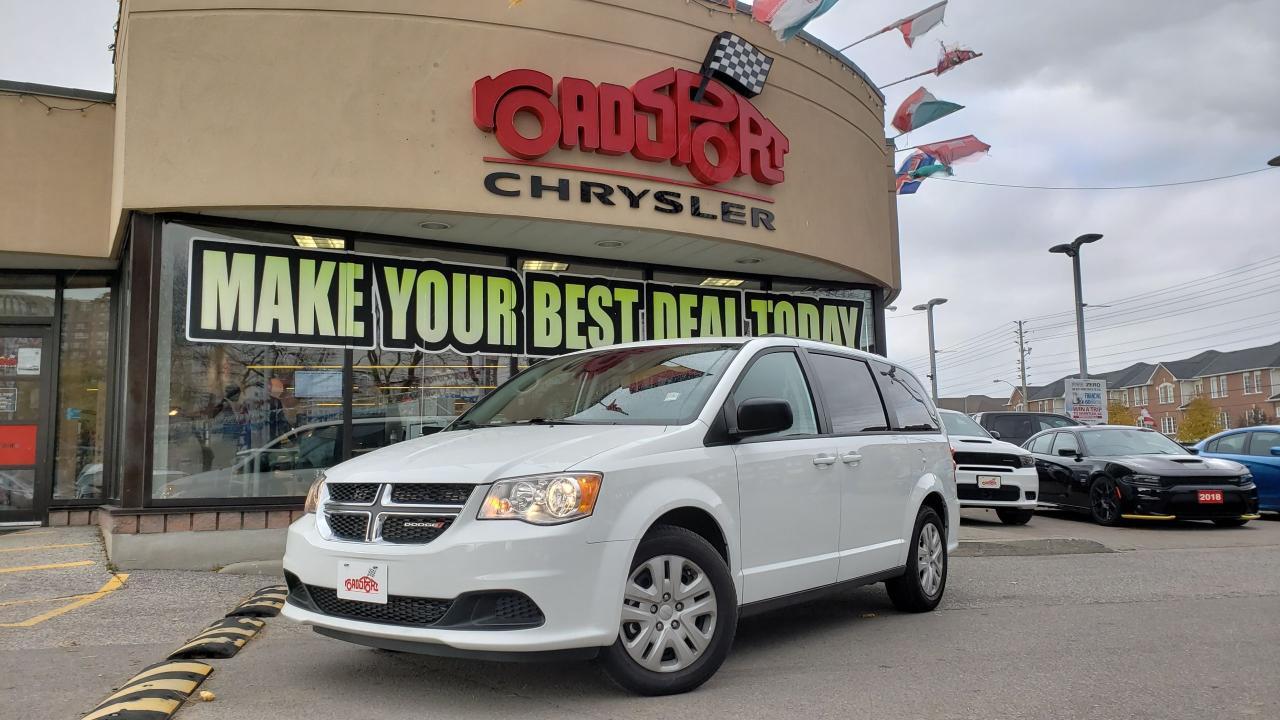 2018 Dodge Grand Caravan SXT 7 PASS FULL STOW/GO REAR CAM LOW KMS