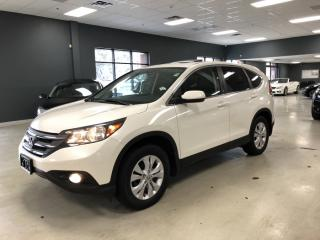 Used 2014 Honda CR-V EX-L*LEATHER*SUNROOF*BACK-UP CAMERA*BLUETOOTH*VERY for sale in North York, ON