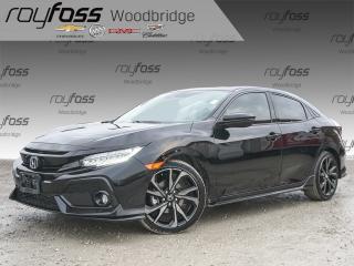Used 2017 Honda Civic Sport Touring LEATHER, NAV, SUNROOF for sale in Woodbridge, ON