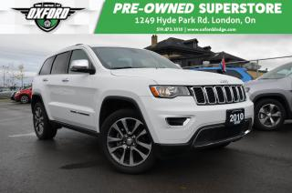 Used 2018 Jeep Grand Cherokee Limited - 4x4, sunroof, parksense, back up cam for sale in London, ON