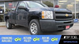 Used 2012 Chevrolet Silverado 1500 WT ** No Accident, Back Rack, Tool Box ** for sale in Bowmanville, ON
