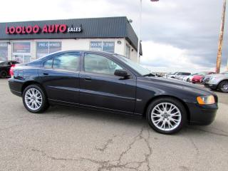 Used 2006 Volvo S60 S60 2.5T AWD LEATHER SUNROOF CERTIFIED 2YR WARRANTY for sale in Milton, ON
