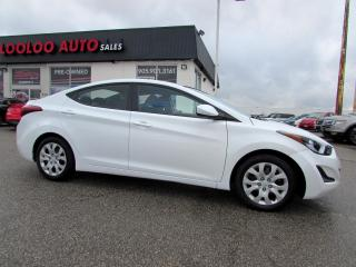 Used 2015 Hyundai Elantra GL AUTOMATIC BLUETOOTH CERTIFIED WARRANTY for sale in Milton, ON