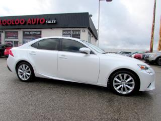 Used 2015 Lexus IS 250 AUTOMATIC LEATHER BLUETOOTH CERTIFIED WARRANTY for sale in Milton, ON