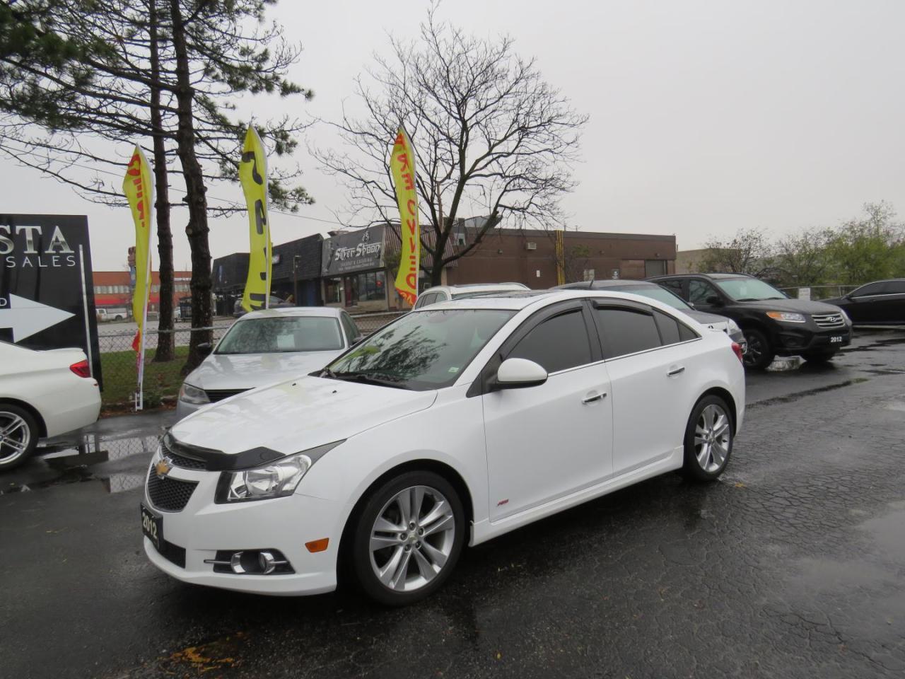 2012 Chevrolet Cruze LTZ (SOLD)