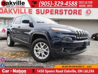 Used 2015 Jeep Cherokee NORTH EDITION 4X4 | B/U CAM | BLUETOOTH for sale in Oakville, ON