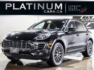 Used 2016 Porsche Macan S, NAVI, CAM, PANO, Sports Chrono for sale in Toronto, ON