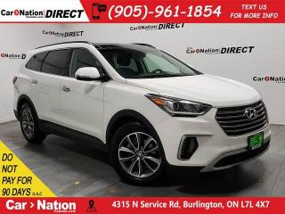 Used 2018 Hyundai Santa Fe XL Luxury| AWD| LEATHER| NAVI| PANO ROOF| for sale in Burlington, ON