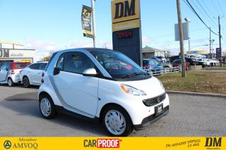 Used 2015 Smart fortwo Passion Sièges Ch for sale in Salaberry-de-Valleyfield, QC