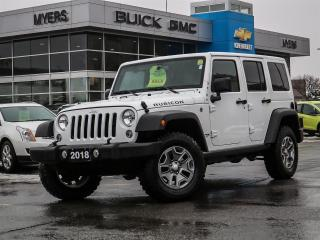 Used 2018 Jeep Wrangler UNLIMITED, RUBICON, AUTO, NAV, HARD TOP for sale in Ottawa, ON