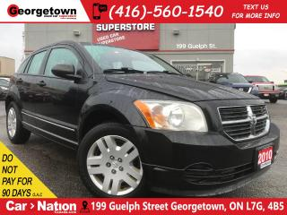 Used 2010 Dodge Caliber SXT | SUNROOF | HEATED SEATS | AUX for sale in Georgetown, ON