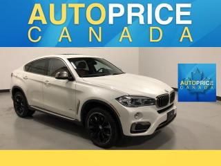 Used 2016 BMW X6 xDrive35i NAVIGATION|PANOROOF|LEATHER for sale in Mississauga, ON