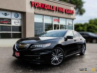 Used 2015 Acura TLX V6 Tech . Aero Pkg. Navigation. Camera. Very Clean for sale in Toronto, ON